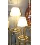 Lampada da tavolo Stilo Glam Nero Oro H 65cm