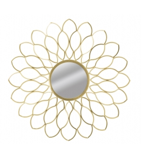 Specchio glam margerite cm Ø 97x5(misura specchio cm Ø 29)