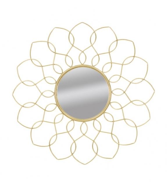Specchio glam girg cm Ø 90x5