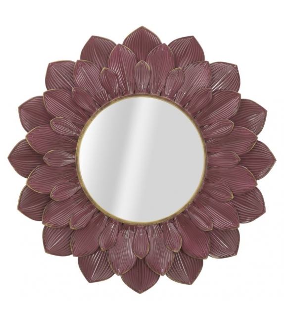 Specchio glam bordeaux cm Ø 100x4,5