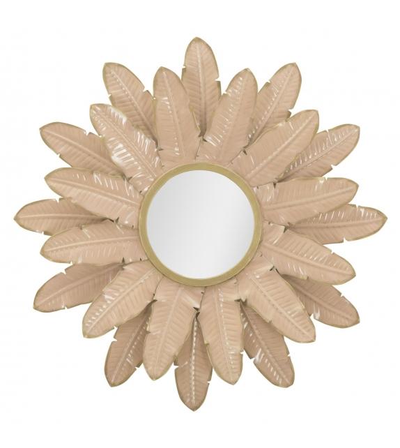 Specchio glam rosa cm 64,5x4,5