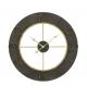 Orologio da muro dark glam cm Ø 70x5