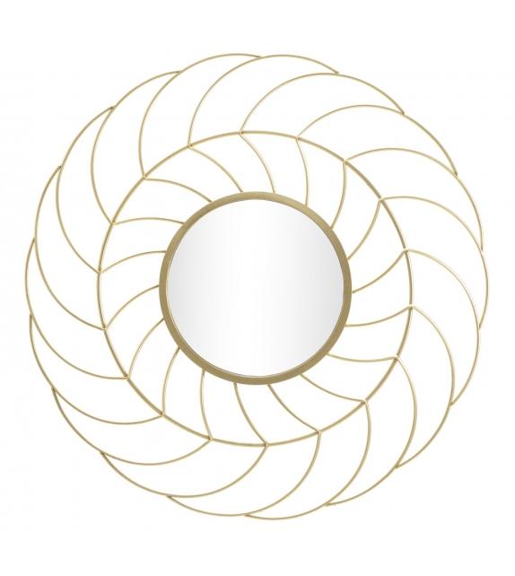 Specchio sunflower cm Ø 88x7 (misura specchio cm Ø 33)