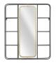 Specchio c/mensole industry cm 62,5x12x74,5