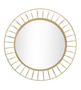 Specchio da muro glam ring cm Ø 81x8,9 (misura specchio cm Ø 55)