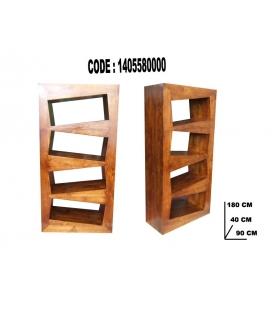 Libreria shelf teak cm 90x40x180
