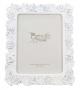 Cornice Porta Foto 15x20 Classic Rose bianco 21,5x2x26,8 cm