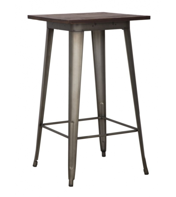 Tavolo bar detroit quadrato cm 60x60x105