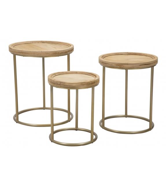 Tavolinetti istanbul tris cm Ø 51x51x60-44x44x55-37x37x46