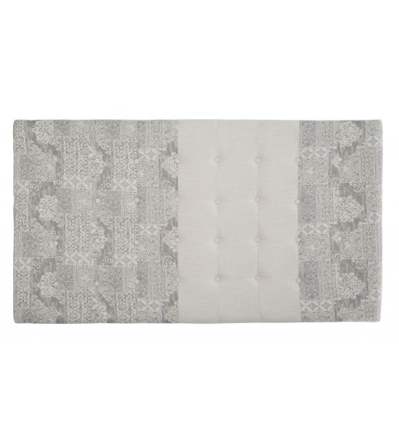 Testiera letto damasco 100% polyester cm 180x8x100