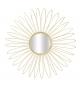 Specchio glam daisy cm Ø 92x9