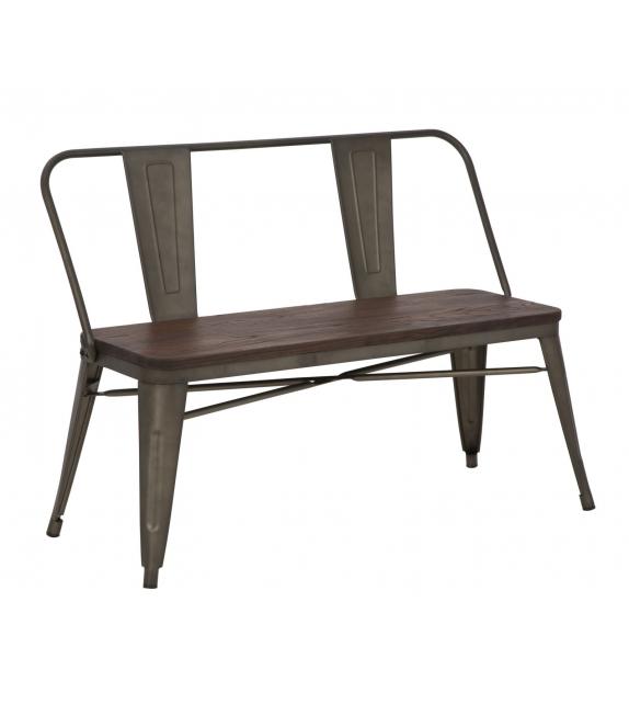 Panchina detroit set 2 pz cm 105x50x80 (altezza seduta cm 46)