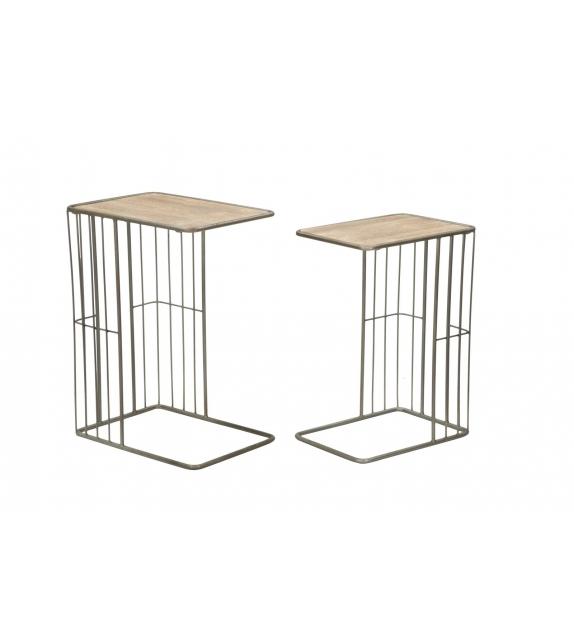 Tavolinetti industry coppia cm 50,5x36x68-44x31x62