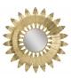 Specchio leaf glam cm Ø 98x5 (misura specchio cm Ø 33,5)