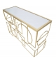 Tavolini da caffè Glam Gold set 2pz Ø 50x60 - 45X50 cm