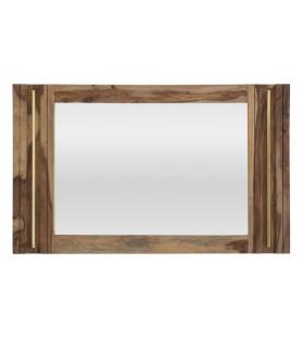 Specchio elegant sheesham cm 120x3x73 (misura interna cm 57x84)