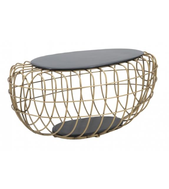 Tavolo da caffe' gold spider cm 119x75x55