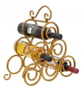 Porta bottiglie glam ring 6 posti cm 36x17,5x33,5