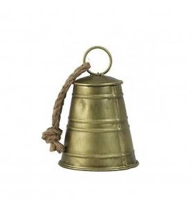 Campana Bronzo Ornamento Ø11, 5 x 17 cm