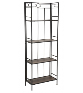 Libreria essential slim cm 60x30x165