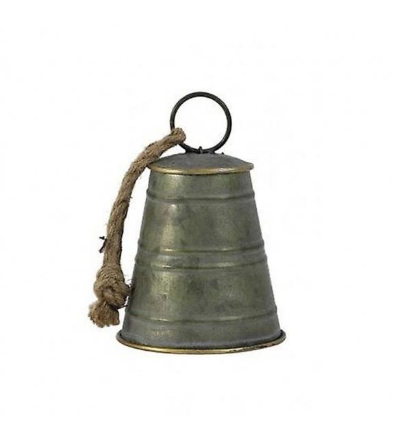 Campana Bronzo Zinco Ornamento Ø11, 5 x 17 cm