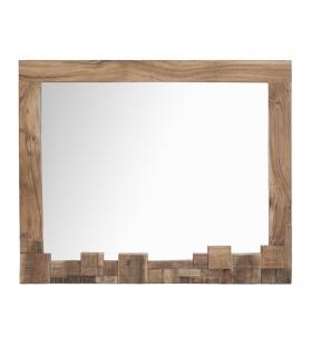 Specchio mumbai cm 90x2,5x75 (legno di acacia nilotica)