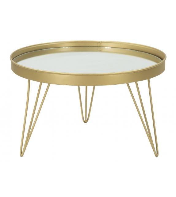 S/tasche glam gold/mirror cm Ø 36,5x22