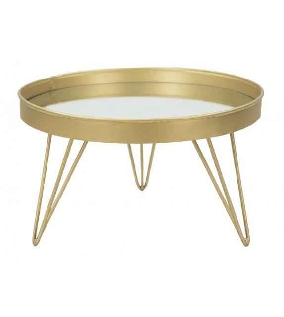 S/tasche glam gold/mirror cm Ø 31x18