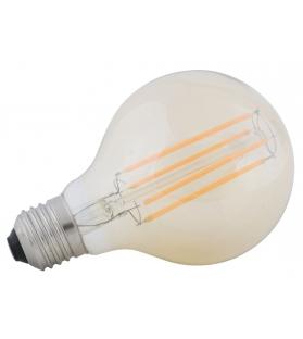 """Lampadina led """"g80"""" *220-240v 4w 2200k e27* amber cm Ø 7,5x11"""
