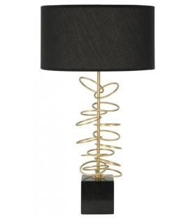 Lampada da tavolo glam rings cm Ø 35x62