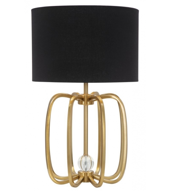 Lampada da tavolo glam ball cm Ø 38x62