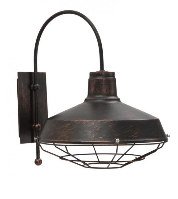 Lampada da muro bronx cm 30x40x37
