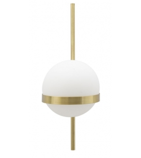Lampada da muro glamy circle cm 15x20x40