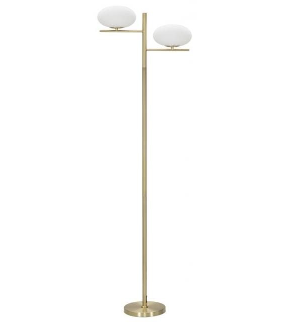Lampada da terra oval glamy cm 51x24x180