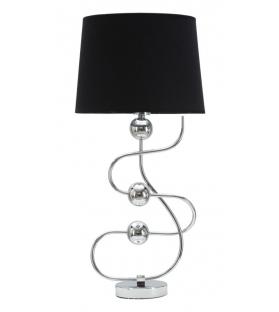 Lampada da tavolo silver ball cm Ø 33x67