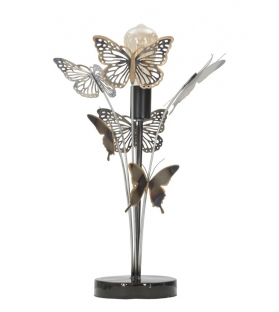 Lampada farfalle cm 32x32x47