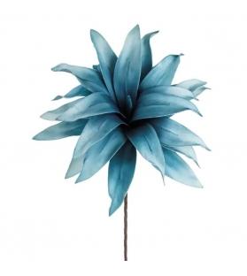 Ramo Fiore Azzurro Foam 75cm