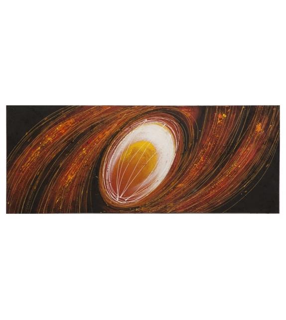 Dipinto su tela galassia picc. -b- cm 40x3x120