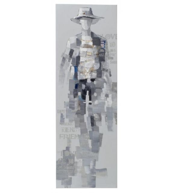 Dipinto su tela ghost-b cm 50x3x150