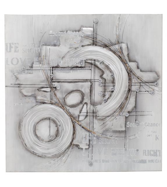 Dipinto su tela bolts-b cm 100x3x100