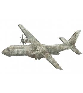 Pannello in ferro aviator -b- cm 107x5x64