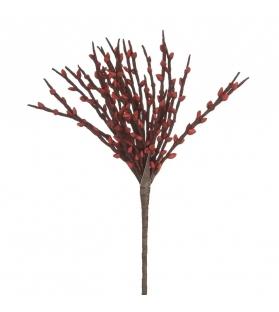 Ramo Fiore Rosso Foam 84cm