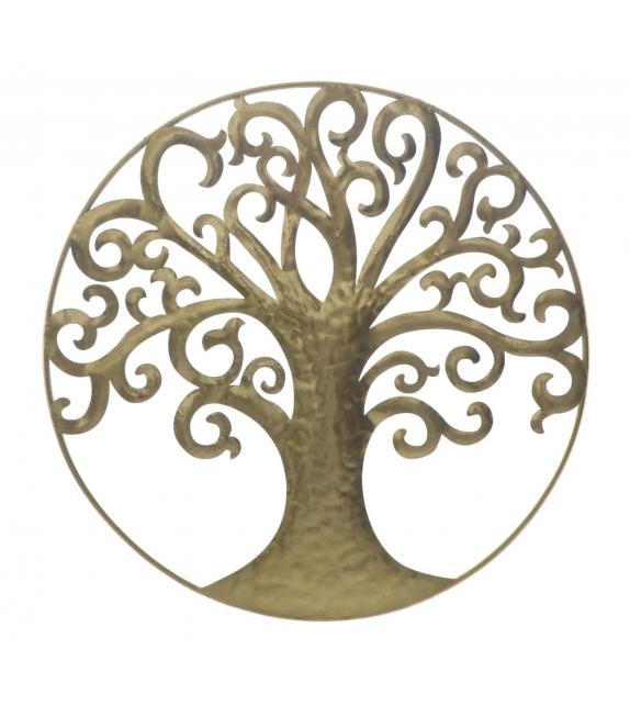 Life tree gold glam cm Ø 70x1,8