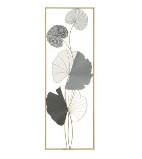 Pannello in ferro lotus -a -cm 31x5x89,5