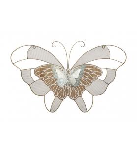 Pannello in ferro butterfly wood -b- cm 64,5x3x39
