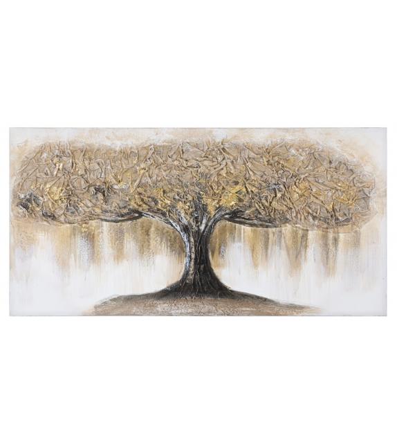 Dipinto su tela tree -a- cm 60x3,8x120