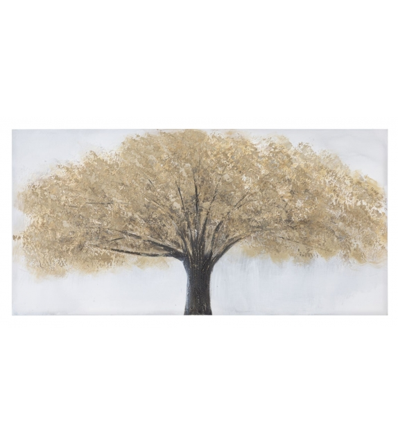 Dipinto su tela tree -b- cm 60x3,8x120