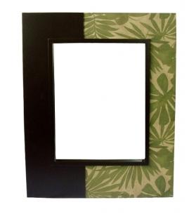 Specchio verticale fiore verde******* cm 80x100x5