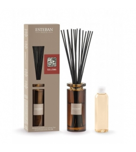 Esteban Paris Diffusore Teck&Tonka stick + Ricarica 75 Ml Edition Moka