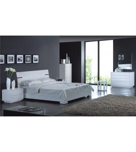 Letto plain bianco cm 160x200